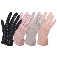 Găng tay chống nắng Nhật, găng tay chống tia UV Nhật bản, găng tay bảo vệ da-Hàng Nhật nội địa ( màu đen)
