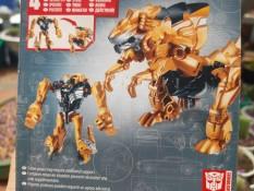 Robot biến hình khủng long Grimlock màu cam của hãng Hasbro nguyên hộp như hình rất đẹp giá rẻ cho bé
