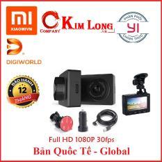 Camera hành trình Xiaomi Yi SmartDash Cam DVR 1080P Bản Quốc tế, YCS.1A17 – Hàng DigiWorld