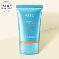 Kem chống nắng dưỡng ẩm AHC Natural Perfection Moist Sun Cream 50ml