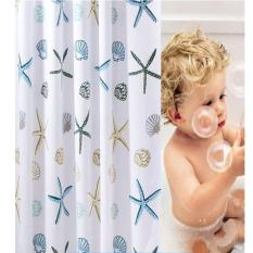 Rèm cửa nhà tắm hình sao biển sang trong, phụ kiện nhà tắm cao cấp nhập khâu – Top 5 phụ kiện nhà tắm hàng đầu hiện nay – Giá rẻ cực sốc chỉ có tại Maxvision
