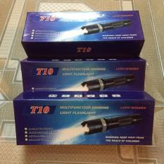 Đèn pin siêu sáng T10 3 chế độ sáng
