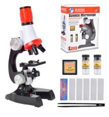 Kính Hiển Vi Trẻ Em Science Microscope Phóng Đại 1200X Kèm Phụ Kiện Tiêu Bản
