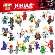 Đồ Chơi Lăp Ráp Lego Set 12 Minifiures Nhân Vật Ninja Go