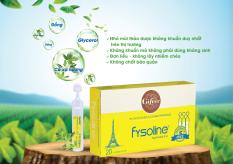 Fysoline – Nước muối sinh lý Kháng khuẩn Pháp 20 ốngx5ml – Hỗ trợ nghẹt mũi, viêm mũi, sổ mũi