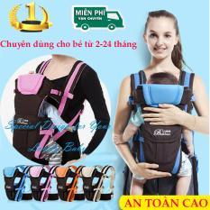 Đai Địu Em Bé, Đai đeo an toàn cho bé khi đi xe máy, Tiện lợi nhiều tư thế, dễ sử dụng chất liệu cao cấp.