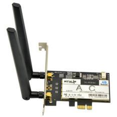 Card wifi tích hợp bluetooth PCI-E cho máy tính bàn Wtxup 7260AC 867Mbps PK09