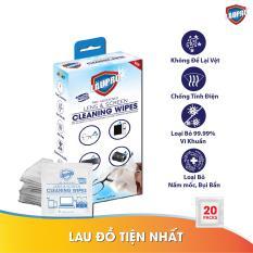 Khăn ướt Läupro – Lau Lens – Hộp 20 gói (Laupro)