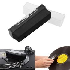 Bộ dụng cụ làm sạch bụi bẩn đĩa than phono vinyl chống tĩnh điện , có kèm cây cọ đầu kim và chổi quét máng, Binvu AUDIOF