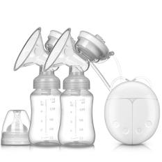 [ Thanh Lý ] Dụng cụ hút sữa bằng điện, Máy Hút Sữa Điện Đôi, Bình Trữ Sữa, giá tốt, dễ sử dụng, thoải mái cho mẹ, an toàn cho bé, hút sữa nhẹ nhàng, không đau nhức