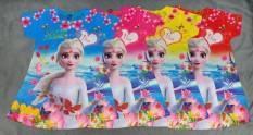 (Giá sỉ) set 4 đầm 3D Elsa bé (8-11kg, 11-13kg, 13-16kg)