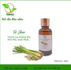 Tinh dầu Sả Java 10ml, nguyên chất 100% – Tinh dầu đuổi muỗi, Tinh dầu khử mùi, tinh dầu kháng khuẩn, đuổi muỗi, đuổi côn trùng – TAMAS