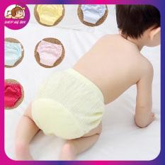 Bỉm vải 6 lớp cao cấp chất liệu vải mềm mịn, thoáng mát dành cho các bé từ 4-18kg