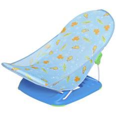 Ghế nằm tắm cho bé khung sắt vải lưới 3 vị trí ngả Mastela 7530/7830, mềm mại với làn da bé, đế nhựa cao cấp