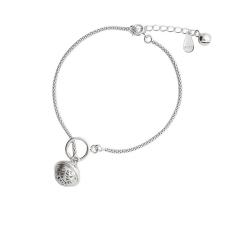 Lắc Chân Bạc Nữ Hạt Bạc Lục Lạc LC-1544 Bảo Ngọc Jewelry