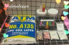 Combo nguyên liệu slime 10