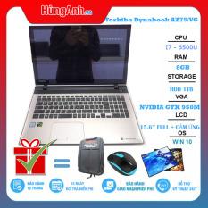 Laptop Doanh Nhân , Chơi Game, Đồ Họa Toshiba Dynabook AZ75/VG i7-6500u, MÀN CẢM ỨNG, Máy Đẹp Giá Rẻ