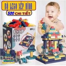 BỘ LEGO SIÊU TRÍ TUỆ VÒNG QUAY KHỔNG LỒ 520 CHI TIẾT DÀNH CHO BÉ . THÚC ĐẨY KHẢ NĂNG SÁNG TẠO CHO BÉ THAO HỒ LẮP RAP NHỮNG THỨ BÉ THÍCH .