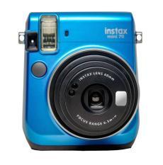 Máy chụp ảnh lấy ngay Fujifilm Instax Mini 70 màu Xanh + kèm 10 tấm film instax mini