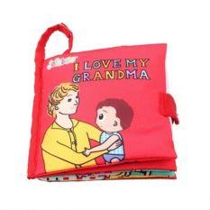 Sách Vải Jollybaby – I Love My Grandma