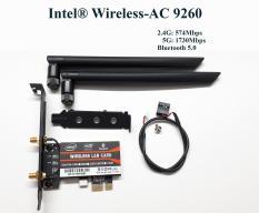 Card WiFi cho Máy bàn – PC chipset Intel 9260ac chuẩn AC có Blueooth