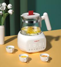 Máy đun và hâm nước pha sữa điện tử MISUTA MST19001, giúp mẹ luôn có nước ấm thích hợp pha sữa cho bé ngay cả khi phải thức dậy lúc nửa đêm, có thể chịu được nhiệt độ cao. Phiên Bản Mới 2021