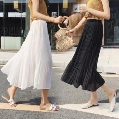 [Bán giá lẻ bằng sỉ] Chân váy xếp ly dáng dài siêu đẹp (hình thật + video)