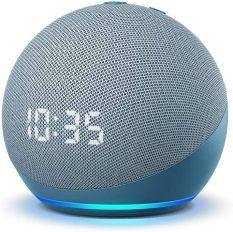 Amazon Echo Dot 4 with clock – Thế hệ loa thông minh mới nhất 2021