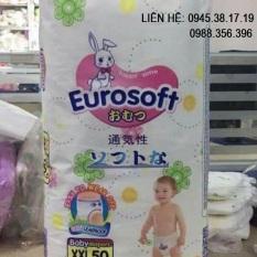 50 miếng bỉm quần EuroSoft cao cấp siêu thấm hút Euro Soft