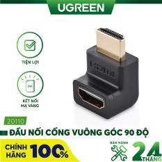 [Nhập ELMAY21 giảm thêm 10% đơn từ 99k] Đầu nối cổng HDMI male sang HDMI female vuông góc 90 độ BẺ XUỐNG UGREEN 20109 – Hãng phân phối chính thức.