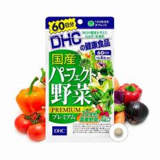 Viên uống rau củ DHC Perfect Vegetable từ 32 loại rau củ bổ sung các thành phần dinh dưỡng thiết yếu mỗi ngày (Gói 120 viên 30 ngày)