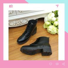 Boots Nữ Cổ Ngắn Buộc Dây BT2 Minisu