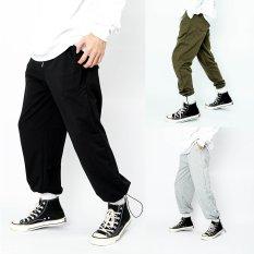 Quần jogger bó chun unisex N7 thể thao nam nữ nỉ cao cấp da cá bigsize thu đông basic pants ulzzang phong cách Hàn quốc