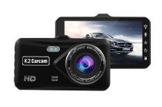 ( Nguyễn Hòa Camera Ô TÔ ) Camera Ô Tô 4 Inch Cảm Ứng Kiêm Camera Lùi