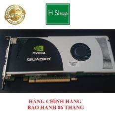 Card màn hình NVIDIA Quadro FX 3700 512MB 256-Bit GDDR3 hàng chính hãng tháo máy bảo hành 6 tháng