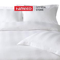 Vỏ chăn HANVICO Cotton sọc 5cm full size