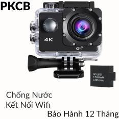 Camera hành trình, hành động sport cam Wifi 4K ULTRA HD chống rung PF17