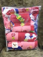 Bộ Gối Nệm Sơ Sinh Kate Cho Bé Sơ Sinh ( có màu xanh dương, xanh lá, hồng và đỏ )