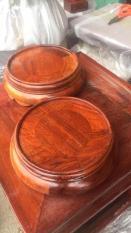 Đế bát hương gỗ hương lào đường kính 16 cm