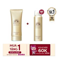 [Voucher MoMo 60k] Gel chống nắng dưỡng ẩm chuyên sâu bảo vệ hoàn hảo Anessa Perfect UV Sunscreen Skincare Gel – SPF50+ PA++++ – 90g