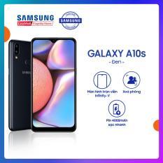[MẪU MỚI CÓ VÂN] Điện thoại Samsung Galaxy A10s 32GB (RAM2GB) – Mới 100% – Màn hình tràn viền 6.2 + Công nghệ nhận diện khuôn mặt + Cảm biến vân tay một chạm mặt lưng + 2 camera sau + Pin 3500mAh — Hàng phân phối chính hãng