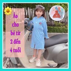 Áo trống nắng toàn thân cho bé từ 2 đến 4 tuổi