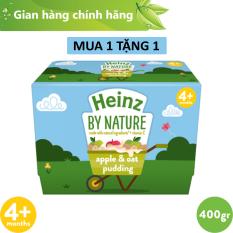 Lốc Pudding Táo Và Yến Mạch Heinz 400g [Date: 31.12.21]
