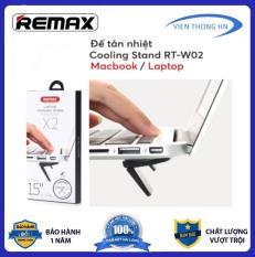 [ MUA 1 TẶNG 1 ] remax Rt W02 đế tản nhiệt laptop – giá đỡ kê cao macbook