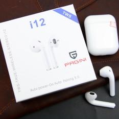 Tai nghe Không Dây Bluetooth Nhét Tai Pagini i12 TWS 5.0 không dây TAI00I12W