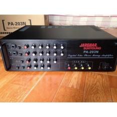 Amply Jarguar Pa-203N 8 Sò Đánh Tốt Cặp Loa Bass 25Cm, Giá Rẻ