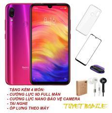 Điện thoại Xiaomi Redmi Note 7 (4GB/64GB) Camera 48MP+5MP – Hàng nhập khẩu (Tặng kèm 4 món)