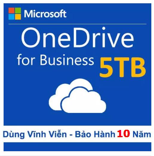 Tài khoản Onedrive 5TB lưu trữ trọn đời backup dữ liệu