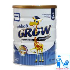 Sữa Bột Abbott Grow – 3 Hộp 900g (Ước muốn Cao hơn, Thông Minh hơn)