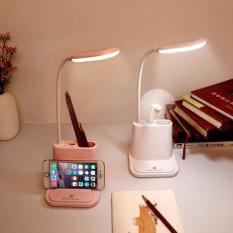 Đèn Bàn Led Bảo Vệ Mắt Học Sinh Đa Chức Năng Sạc USB + Đèn Ngủ Cảm Ứng Thông Minh + Quạt USB